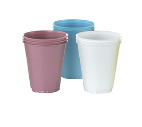 PLASTIC CUPS YELLOW 5OZ 108